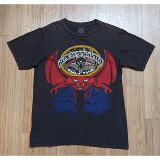 良品 BLACK SABBATH ブラックサバス バンドTシャツ ブラック M(Tシャツ/カットソー(半袖/袖なし))