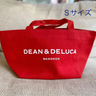 DEAN & DELUCA - 【新品未使用】DEAN & DELUCAトートバッグ 人気色のレッドのSサイズ
