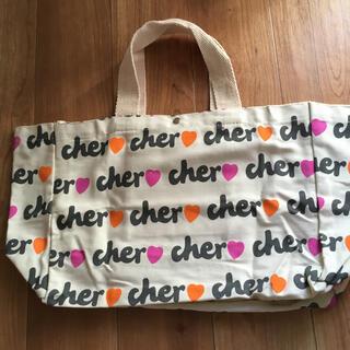 Cher - シェル ロゴキャンパストートバッグ 雑誌付録