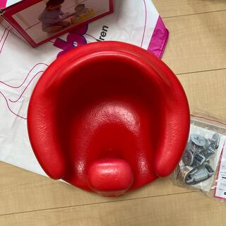 Bumbo - バンボ 赤 ベルトのみ未使用