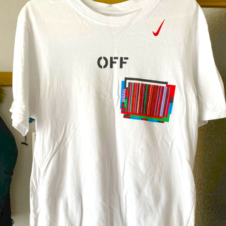 オフホワイト(OFF-WHITE)のナイキ オフホワイト tシャツ(Tシャツ/カットソー(半袖/袖なし))