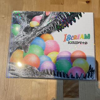 キスマイフットツー(Kis-My-Ft2)のI SCREAM 完全初回版2CD&2DVD(アイドル)