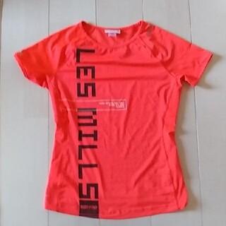 リーボック(Reebok)のReebok LesmillsボディパンプTシャツ(トレーニング用品)
