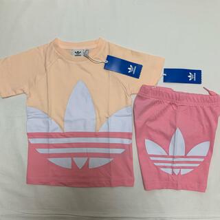 adidas - 新品 アディダス オリジナルス 半袖 Tシャツ ハーフ パンツ セット 100