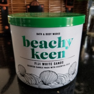 Bath & Body Works - バスアンドボディーワークスFIJI WHITE SANDS 3wickキャンドル