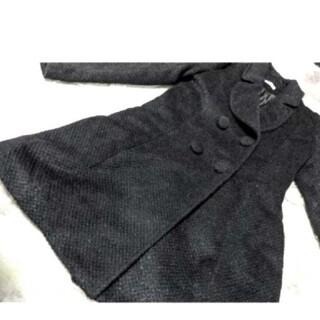 アールエフ(R・F)のRF♥黒♥ラメ入り♥キラキラ♥ロング♥コート(ロングコート)