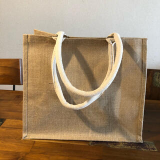 MUJI (無印良品) - 無印良品 ジュートマイバッグ A4