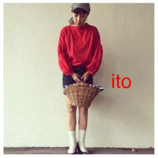 ネストローブ(nest Robe)のito 作家 cotton linen volume sleeve tops(シャツ/ブラウス(長袖/七分))