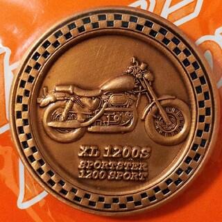 ハーレーダビッドソン(Harley Davidson)のハーレー スポスタXL  スポーツスター 1200S ピンバッジ  ブロンズ(装備/装具)