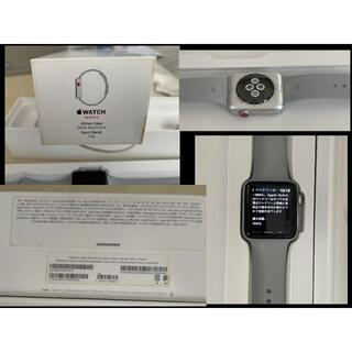 Apple - しんしん様専用Apple Watch 3 42mm GPS+Cellular