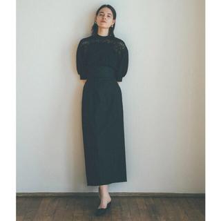CLANE【新品】ARRENGE BELT SKIRT ブラック(ロングスカート)