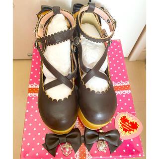 ベイビーザスターズシャインブライト(BABY,THE STARS SHINE BRIGHT)のBABY ベイビー 木底のお靴(ローファー/革靴)