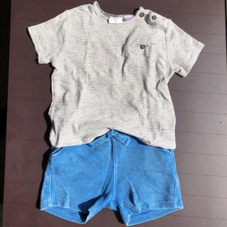 ザラ(ZARA)のベビーTシャツ&ショートパンツ(Tシャツ/カットソー)