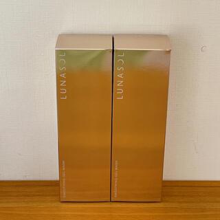 LUNASOL - ルナソル スムージングジェルウォッシュ 洗顔料 2本セット