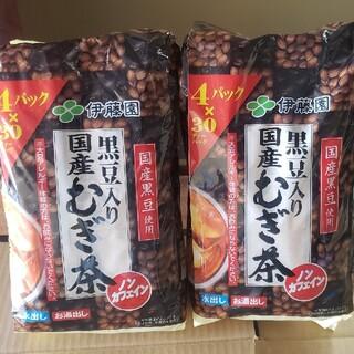 コストコ(コストコ)の240パック 黒豆入り国産麦茶 30ティーバック入り4セットの二袋(茶)