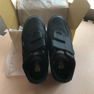 ミドリアンゼン(ミドリ安全)の未使用 HiGRIP ミドリ安全靴 24.5 黒 ワークシューズ 靴のみ(その他)