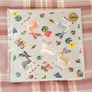 FEILER - フェイラー × 遊 中川 ハンカチ グレー C