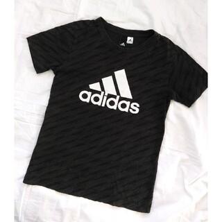 adidas - アディダス Tシャツ 濃いグレー