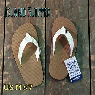 アイランドスリッパ(ISLAND SLIPPER)のIsland Slipper アイランドスリッパ レア 珍しい サンダル(サンダル)