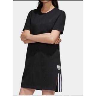 アディダス(adidas)のアディダス Tシャツ ワンピース(ひざ丈ワンピース)