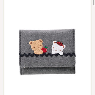 ファミリア(familiar)の新品・タグ付き ファミリア ミニ財布  三つ折り財布 小銭入れ コインケース(財布)