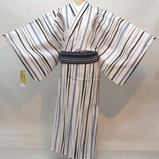 浴衣 男性 M/L/LLサイズ CANOA 綿100% NO30403(浴衣帯)