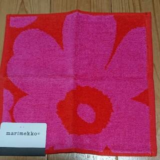 marimekko - marimekko ピンクUNIKKOミニタオル 新品未使用