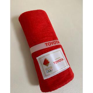 トヨタ(トヨタ)のTOYOTA 記念タオル(タオル/バス用品)