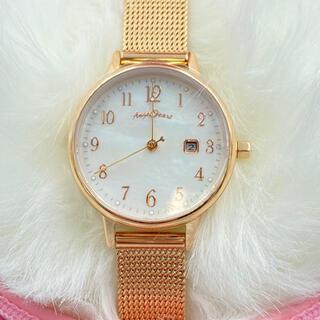エンジェルハート(Angel Heart)のエンジェルハートピンクゴールド金バンド電池交換不要(腕時計)