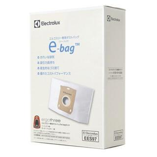 エレクトロラックス(Electrolux)のエレクトロラックス エルゴスリー ダストバッグ 9枚 モーターフィルター 2枚(掃除機)