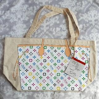 マイアザーバッグ(my other bag)のMY OTHER BAG マイアザーバッグ ZOEY/MULTI-WHITE(トートバッグ)