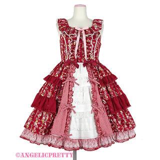 アンジェリックプリティー(Angelic Pretty)のAngelic Pretty Petit Bouquetジャンパースカート(ひざ丈ワンピース)