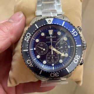 セイコー(SEIKO)のセイコープロスペックス ソーラー  ダイバーズ  クロノグラフSBDL055  (腕時計(アナログ))