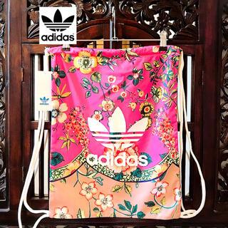 adidas - アディダス adidas 新品 ファーム コラボ 花柄 リュック バッグパック