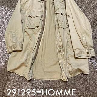 ニーキュウイチニーキュウゴーオム(291295=HOMME)の291295=HOMME ジャケット シャツ 羽織り(シャツ)