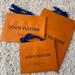 ルイヴィトン(LOUIS VUITTON)の新品 ルイヴィトン 紙袋 ショップ袋 ショッパー 一枚(ショップ袋)