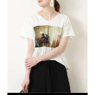 Uhr ウーア Tシャツ カットソー ロゴ(Tシャツ(半袖/袖なし))