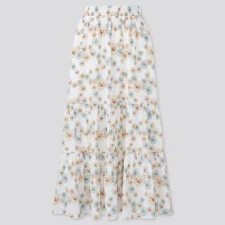 ポールアンドジョー(PAUL & JOE)の新品未使用 UNIQLO ポールアンドジョー スカート XLサイズ(ロングスカート)