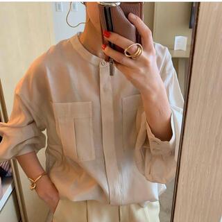 ENFOLD - machatt シアーシャツ