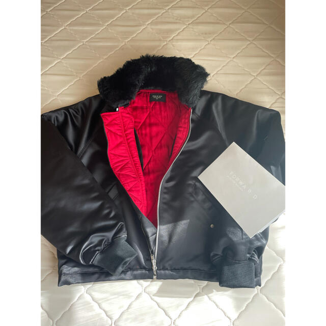 FEAR OF GOD(フィアオブゴッド)のFEAR OF GOD SATIN BOMBER JACKET メンズのジャケット/アウター(ブルゾン)の商品写真