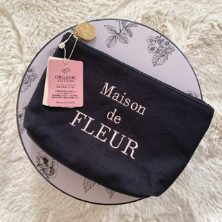 メゾンドフルール(Maison de FLEUR)のタイムセール⭐︎メゾンドフルール オーガニックコットンベーシックポーチ(ポーチ)