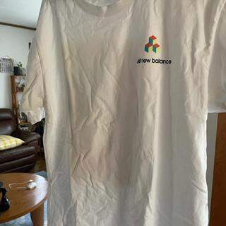 ニューバランス(New Balance)のスポーツスタイルマイケルリーダーポートレートショートスリーブ Tシャツ(Tシャツ/カットソー(半袖/袖なし))