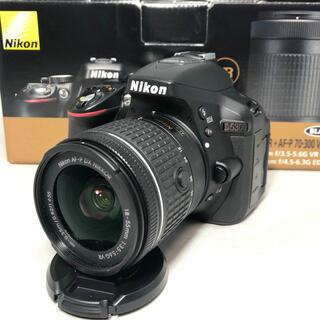 ニコン(Nikon)のNikon D5300 AF-P 18-55レンズKIT 2137ショット極美品(デジタル一眼)