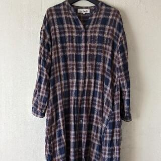 チチカカ(titicaca)のチチカカ20AWチェックロングシャツ(シャツ)