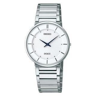 セイコー(SEIKO)のSEIKO DOLCE メンズ腕時計 年差時計 薄型 SACK015(腕時計(アナログ))