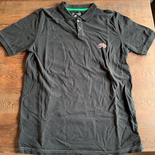 グローバルワーク(GLOBAL WORK)のグローバルワーク ポロシャツ メンズ 黒(ポロシャツ)