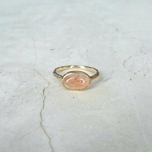agete(アガット)のLOT様専用 agete リング サンストーン レディースのアクセサリー(リング(指輪))の商品写真