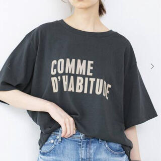 IENA - 新品タグ付き!イエナ COMME DHABITUDE Tシャツ