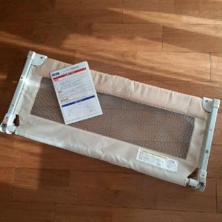カトージ(KATOJI)のKATOJI(カトージ)折り畳み可能ポータブルベビーガード 90cm クリーム(ベビーフェンス/ゲート)
