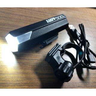 美品 美品 500ルーメン CATEYE 充電式ヘッドライト AMPP500